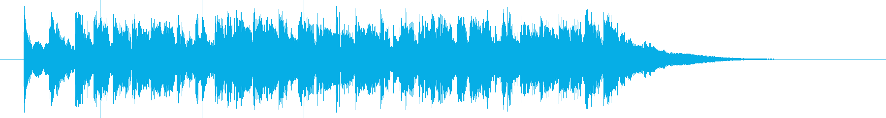緩やかで煌きのあるシンセポップジングルの再生済みの波形