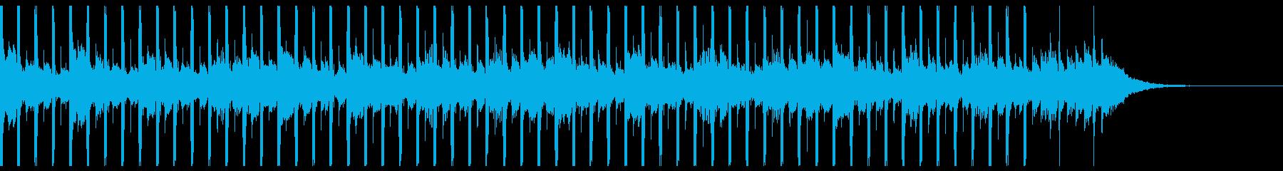 技術プレゼンテーション(短)の再生済みの波形