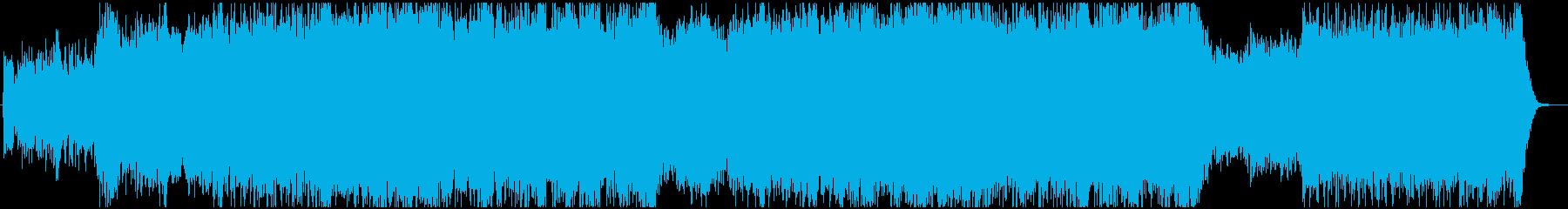 壮大なケルト・オーケストラの再生済みの波形