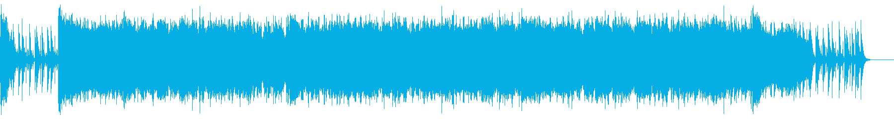 POPなギターロックの再生済みの波形