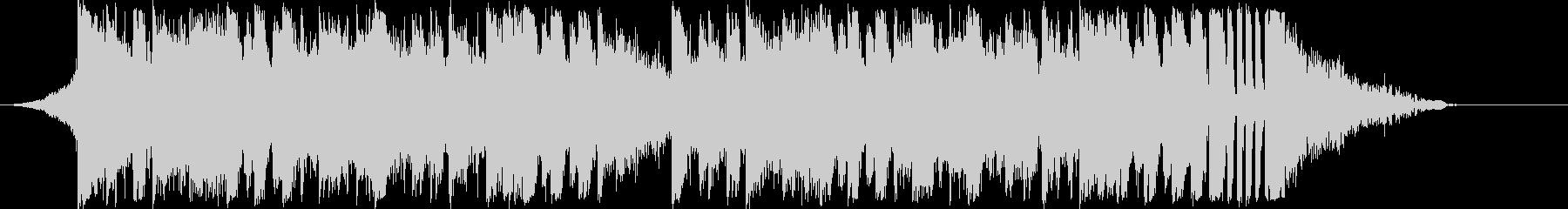 躍動感EDMダンスエレクトロダブステップの未再生の波形