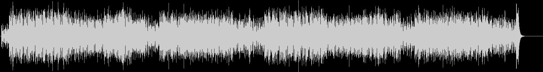 ドタバタ 騒がしいコミカルなBGMの未再生の波形