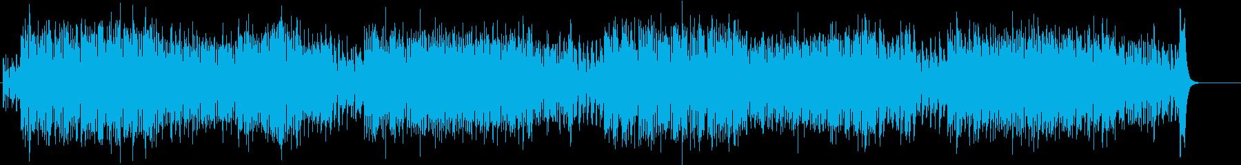 ドタバタ 騒がしいコミカルなBGMの再生済みの波形