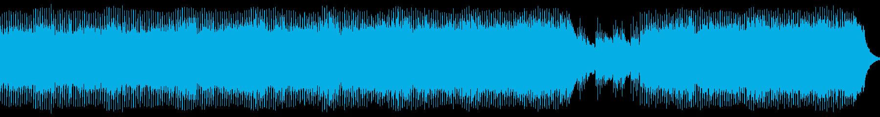 困難に立ち向かう、応援ソングの再生済みの波形
