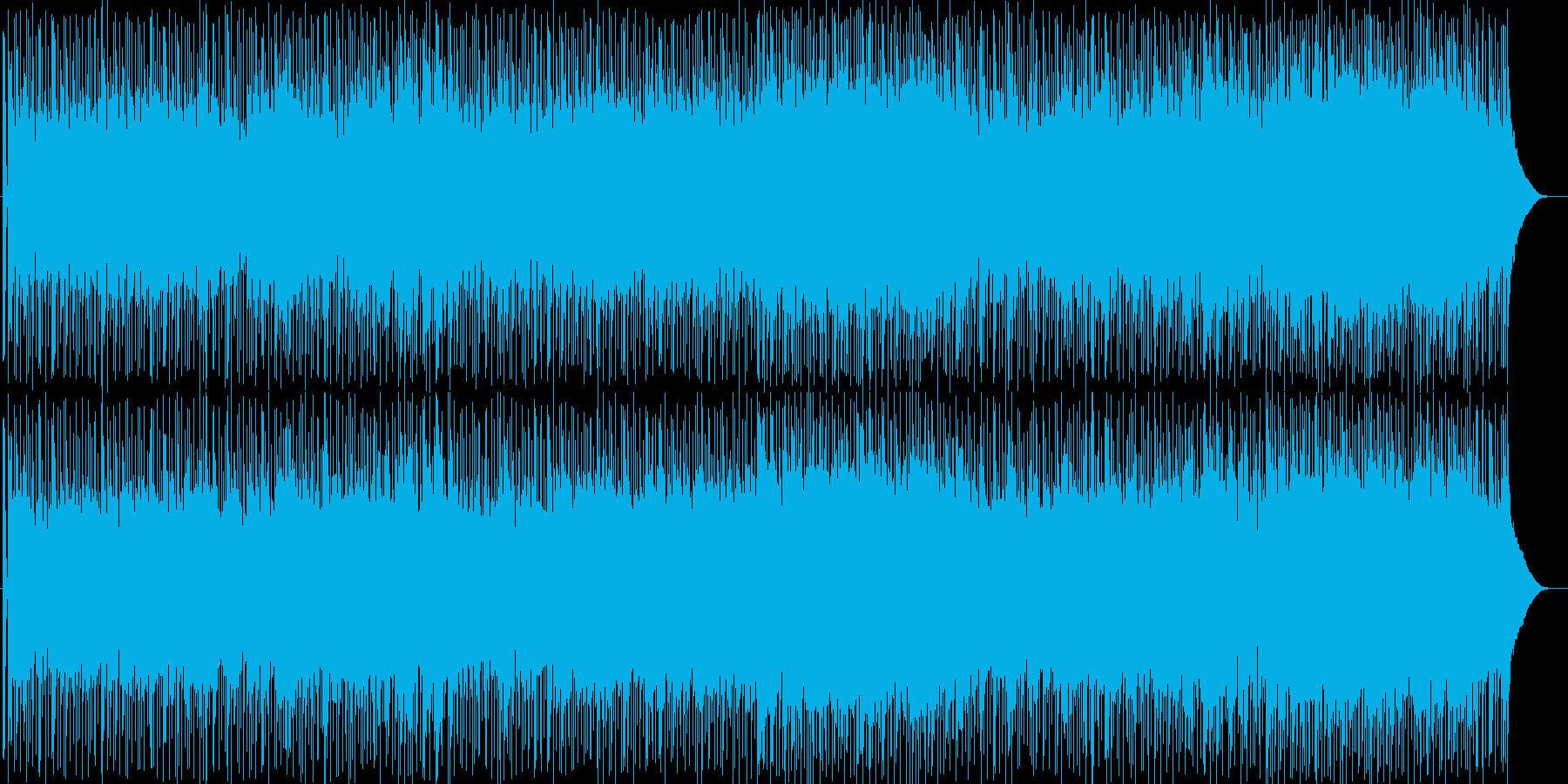 懐かしい故郷へ帰るイメージのポップの再生済みの波形