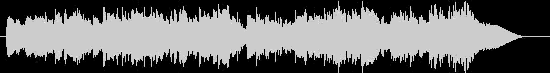 優雅なチェンバロのバロック風ジングル2の未再生の波形