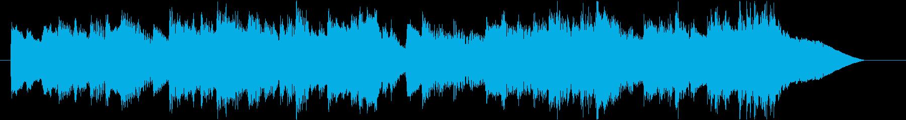 優雅なチェンバロのバロック風ジングル2の再生済みの波形