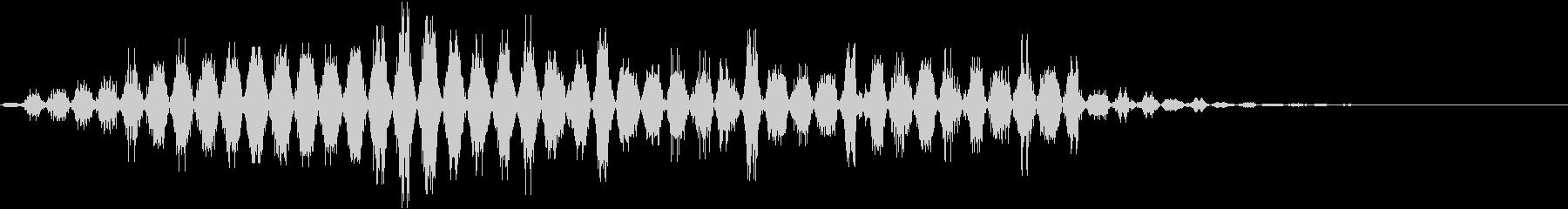 音楽効果;シンセサイザーコードボタ...の未再生の波形