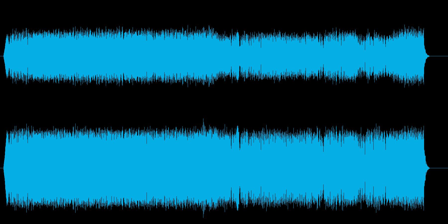 オフショアパワーボート;アイドル/...の再生済みの波形