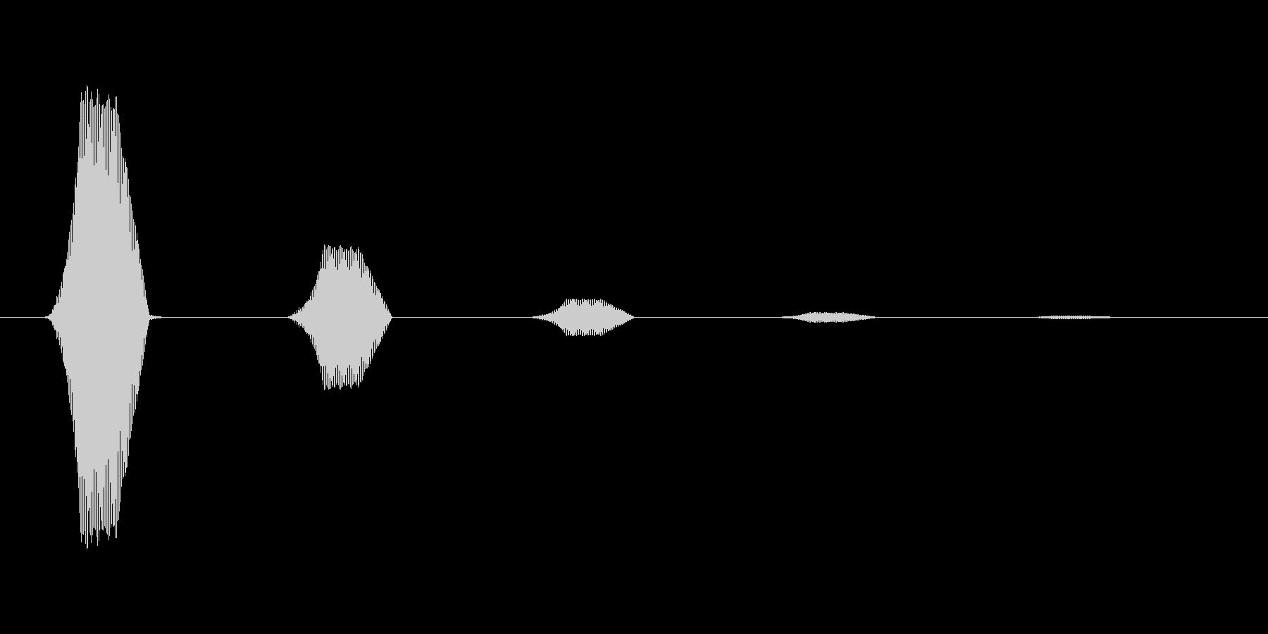 ファミコン風効果音カーソル系です 13の未再生の波形