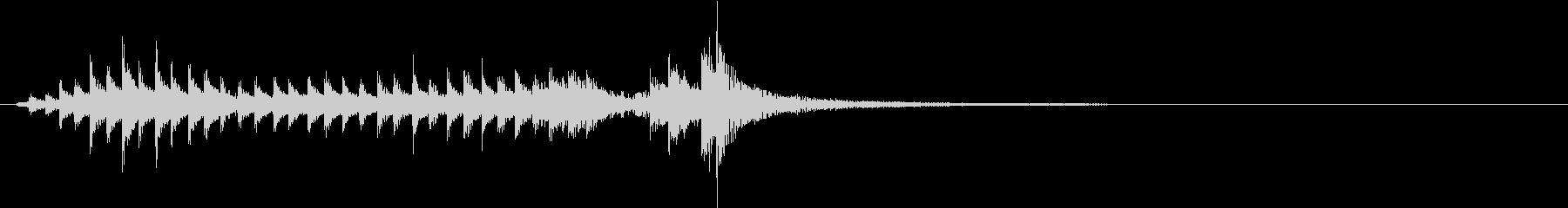 ティンバリ:2つのドラムロール、ド...の未再生の波形