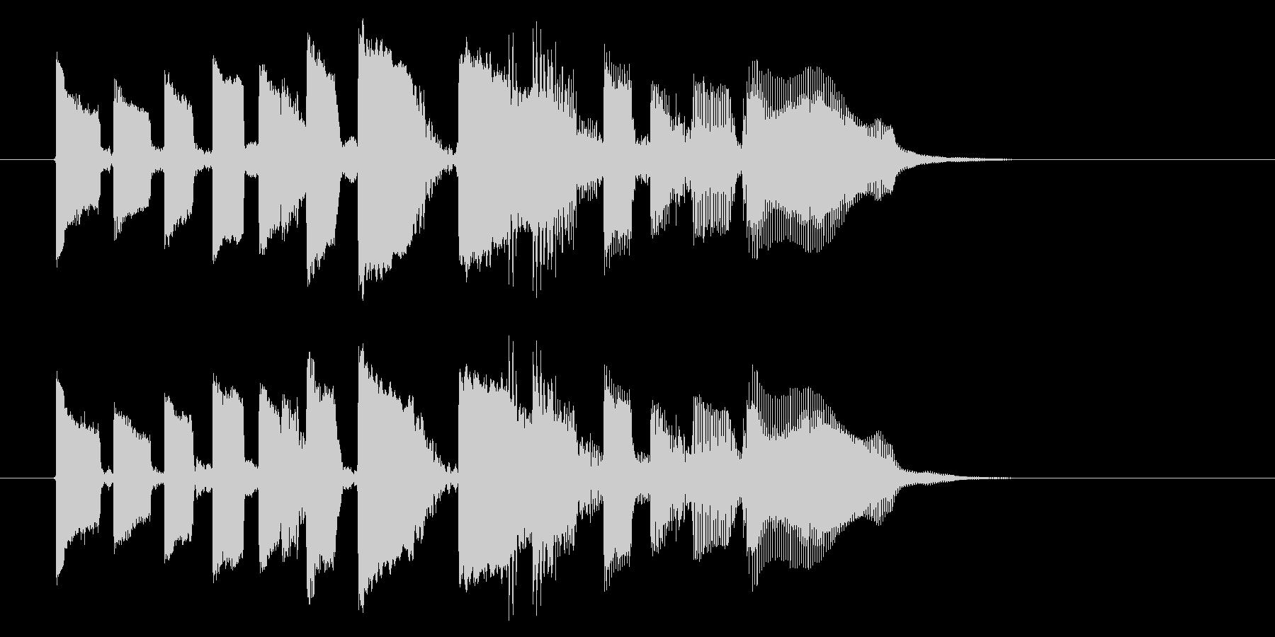 エレキ カントリー切り替え5 一件落着の未再生の波形