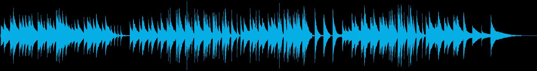 企業用癒しのピアノでほのぼの優しい映像にの再生済みの波形
