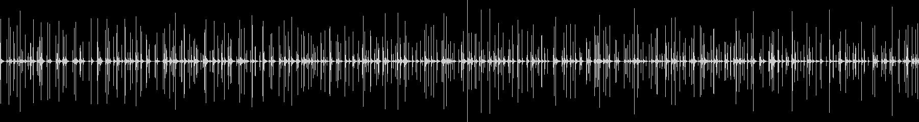 拍手の音です。の未再生の波形