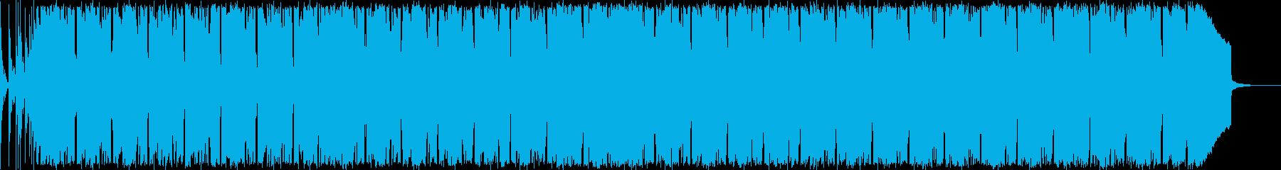映画の盛り上がりに使えるビッグビートの再生済みの波形