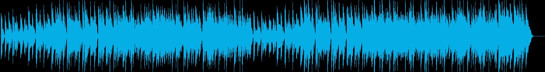 ウキウキ・陽気・軽快・明るい・ピアノの再生済みの波形