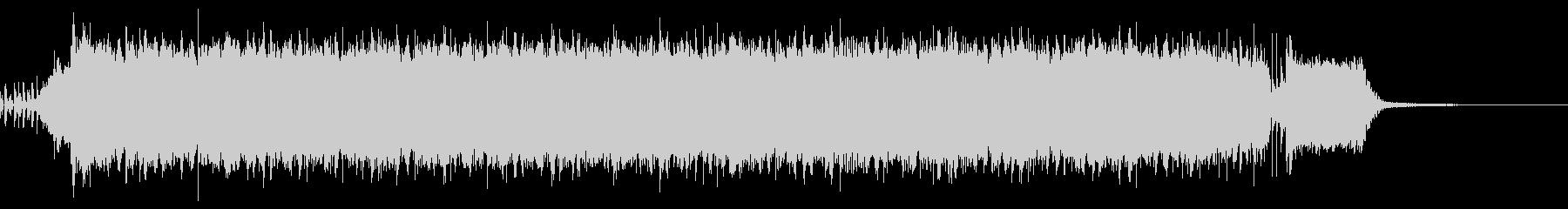 【30秒】激しいロック盛り上がるアンセムの未再生の波形