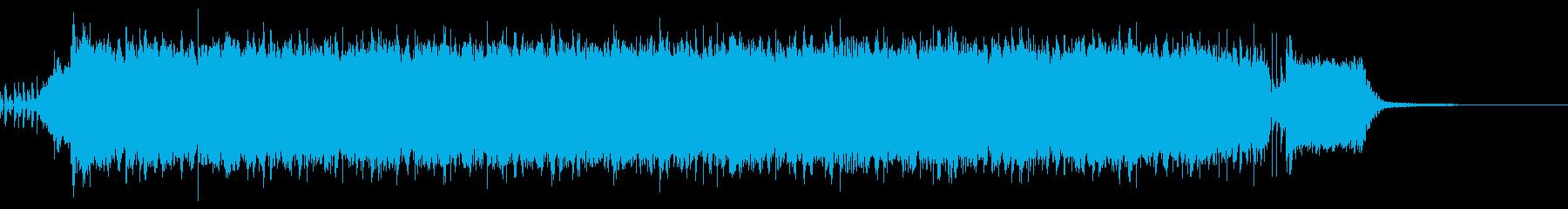 【30秒】激しいロック盛り上がるアンセムの再生済みの波形