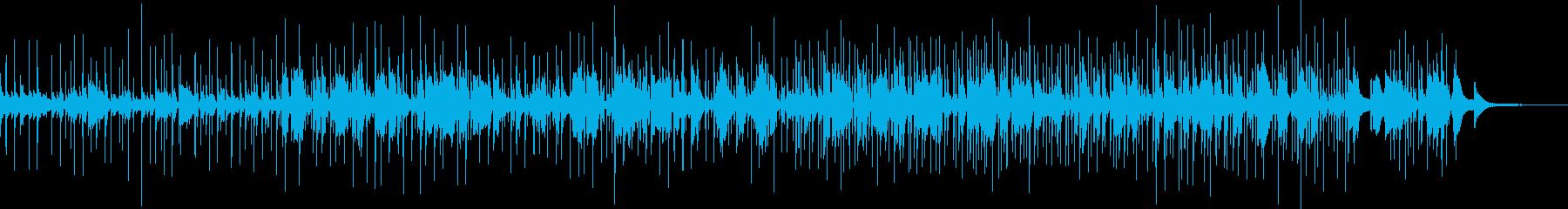 日本語のボサノヴァの再生済みの波形