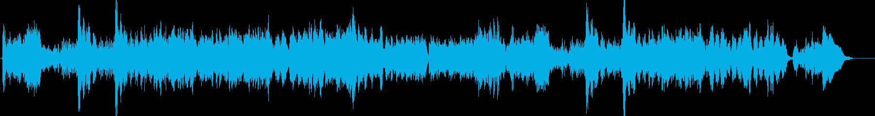 ユーモラスな子犬のワルツの再生済みの波形