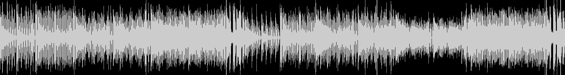 8bitゲームの街 ピコピコ ループの未再生の波形