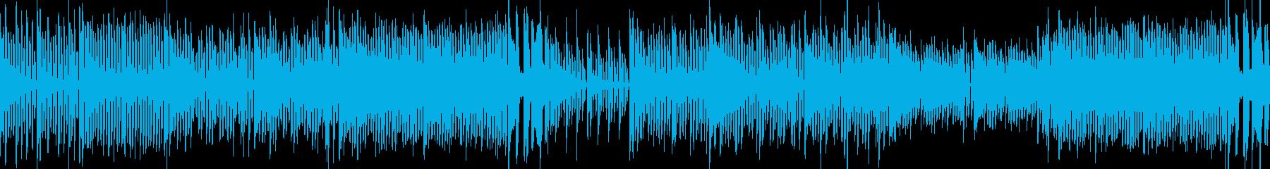 8bitゲームの街 ピコピコ ループの再生済みの波形