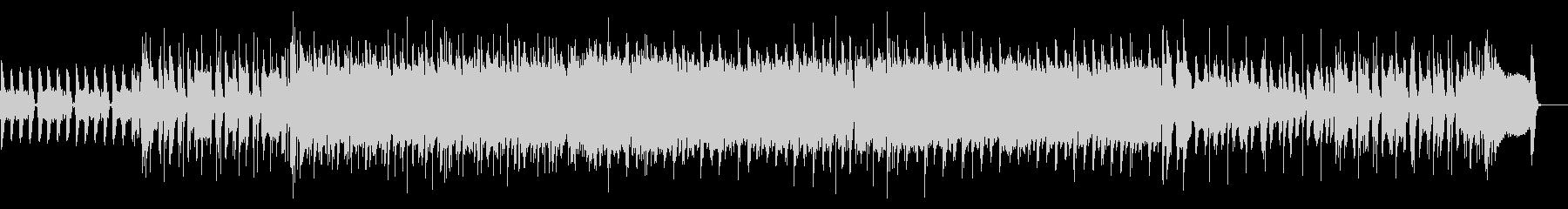 エモいロック・インストゥルメンタルの未再生の波形