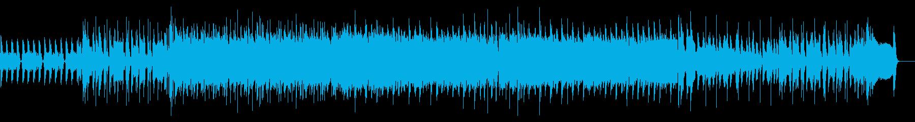 エモいロック・インストゥルメンタルの再生済みの波形