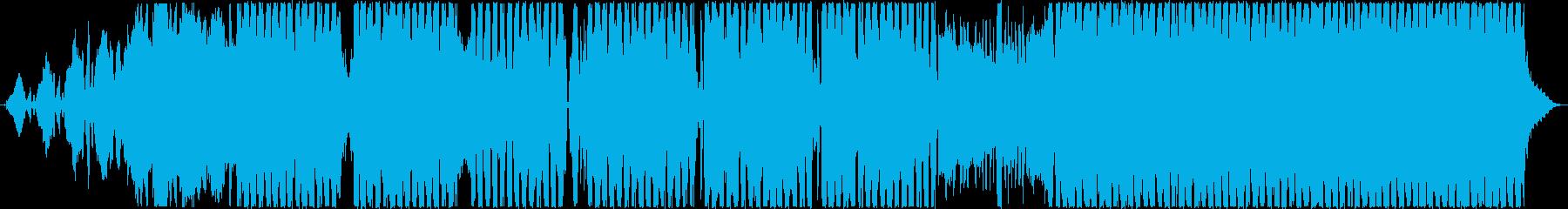 ダブステップ アクティブ 明るい ...の再生済みの波形