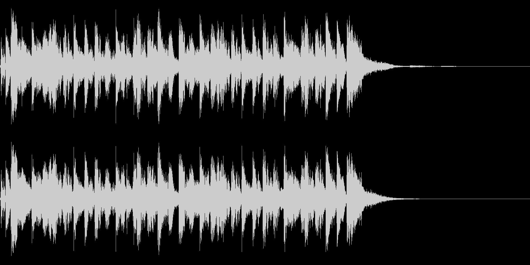 アイワンダーALT。混合の未再生の波形