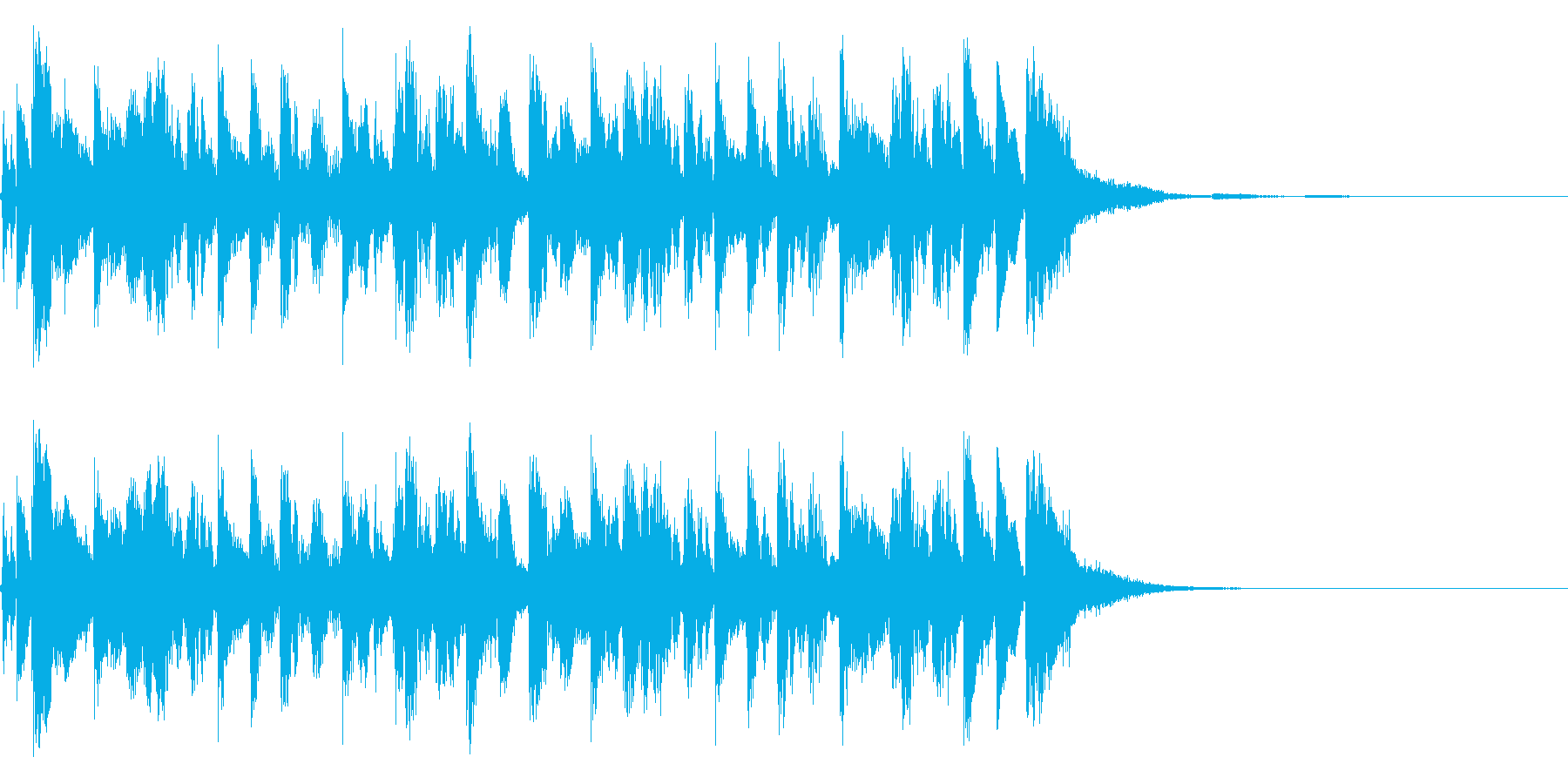 アイワンダーALT。混合の再生済みの波形