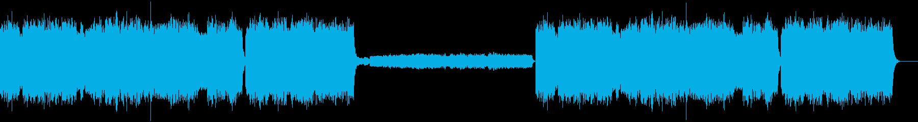 教会のオルガンの再生済みの波形