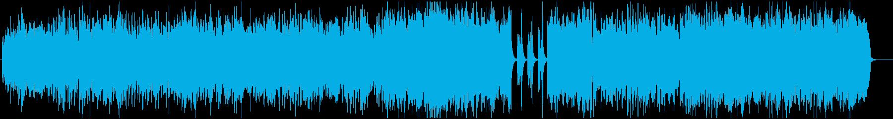 RPGフィールド曲風なオーケストラの再生済みの波形