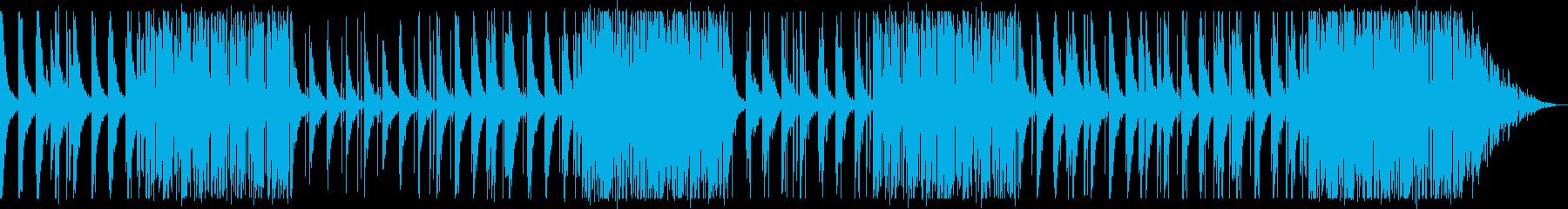 寂しげ/夜空/R&B_No447の再生済みの波形