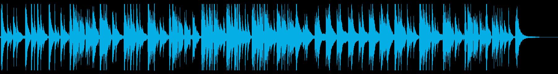 しっとりとして切なさもあるソロギターの再生済みの波形