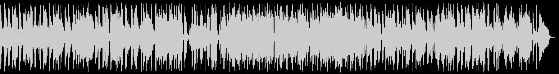 ジャズピアノ3拍子のブルースの未再生の波形