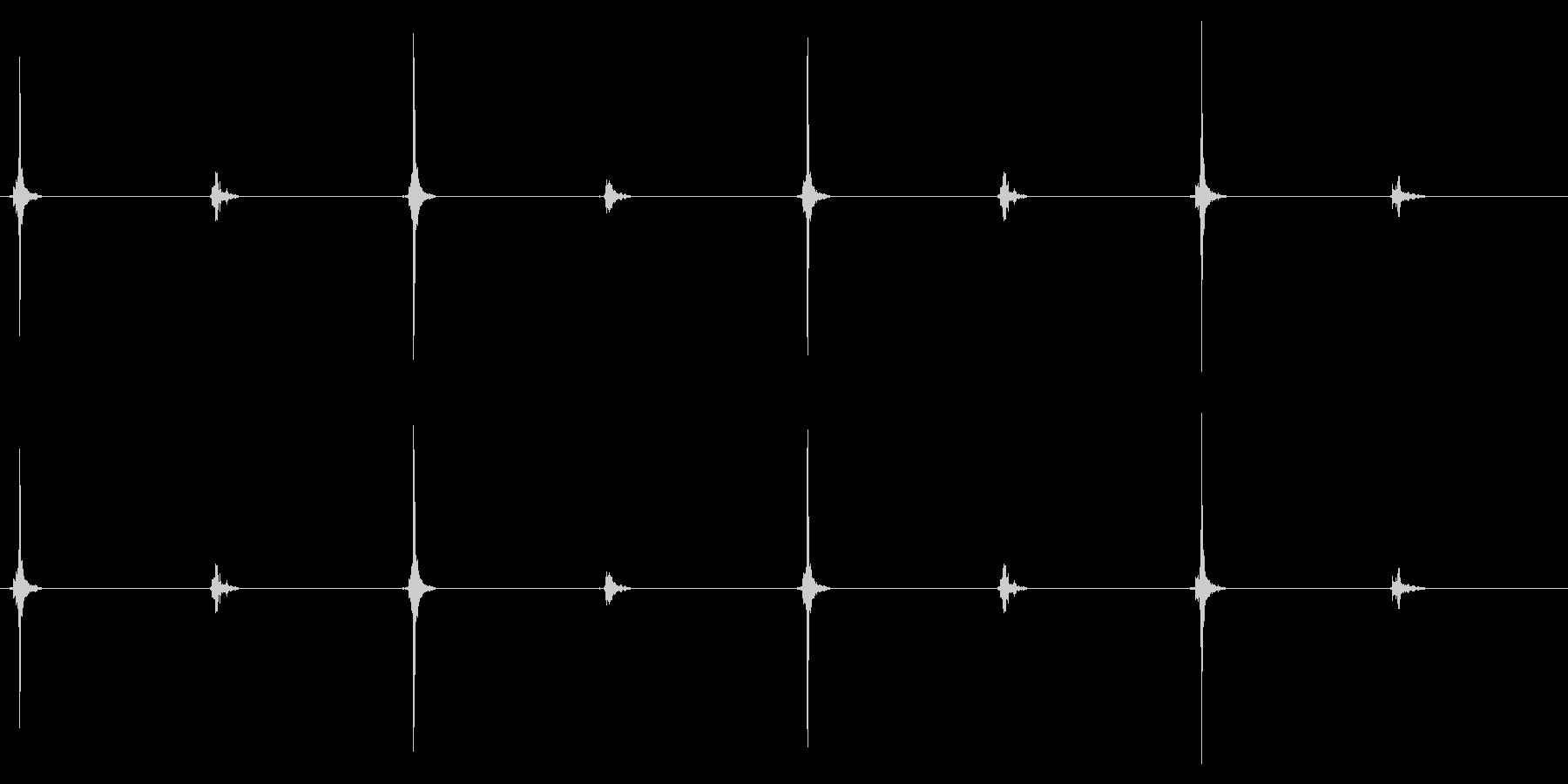 時計 秒針02-1(ループ 1)の未再生の波形