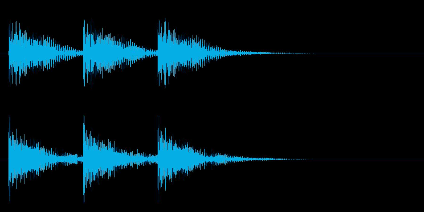 パーカッション-ドラマチックなティ...の再生済みの波形