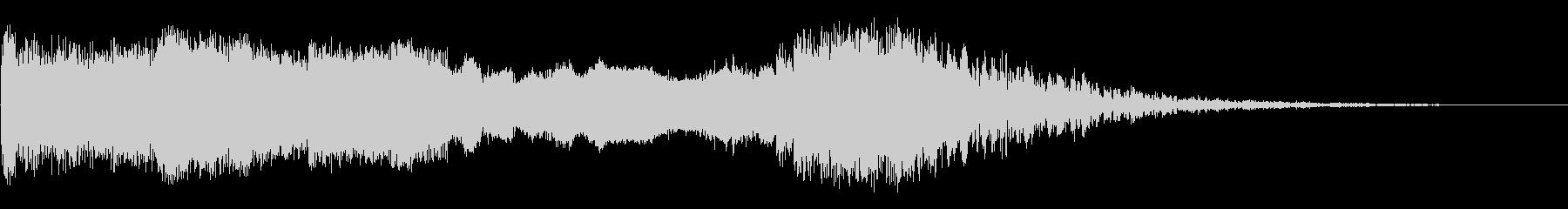 キラーウェイルの未再生の波形