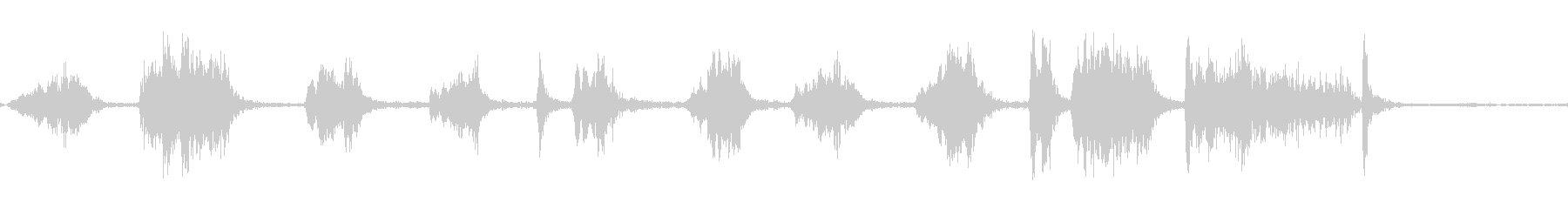 カートランスミッションマニュアル;...の未再生の波形