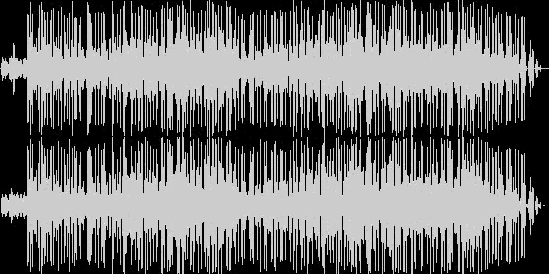 90年代のティンバランド風のR&Bです。の未再生の波形