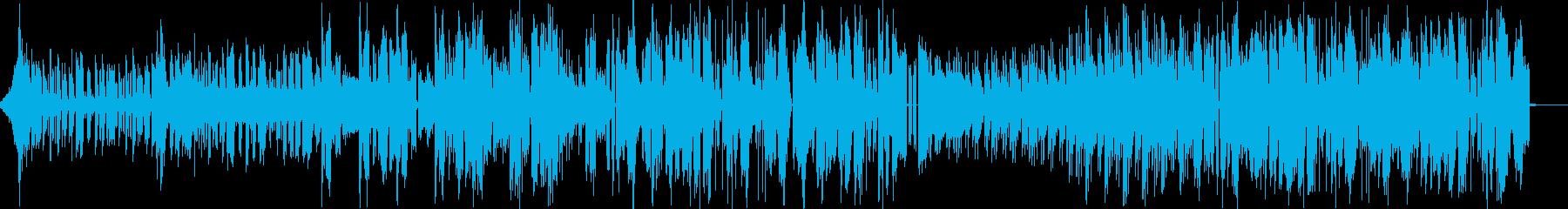 ストレス発散系ブロステップの再生済みの波形