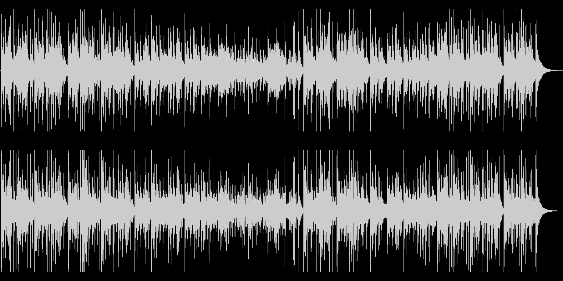優しく切ないクラシックギター曲の未再生の波形