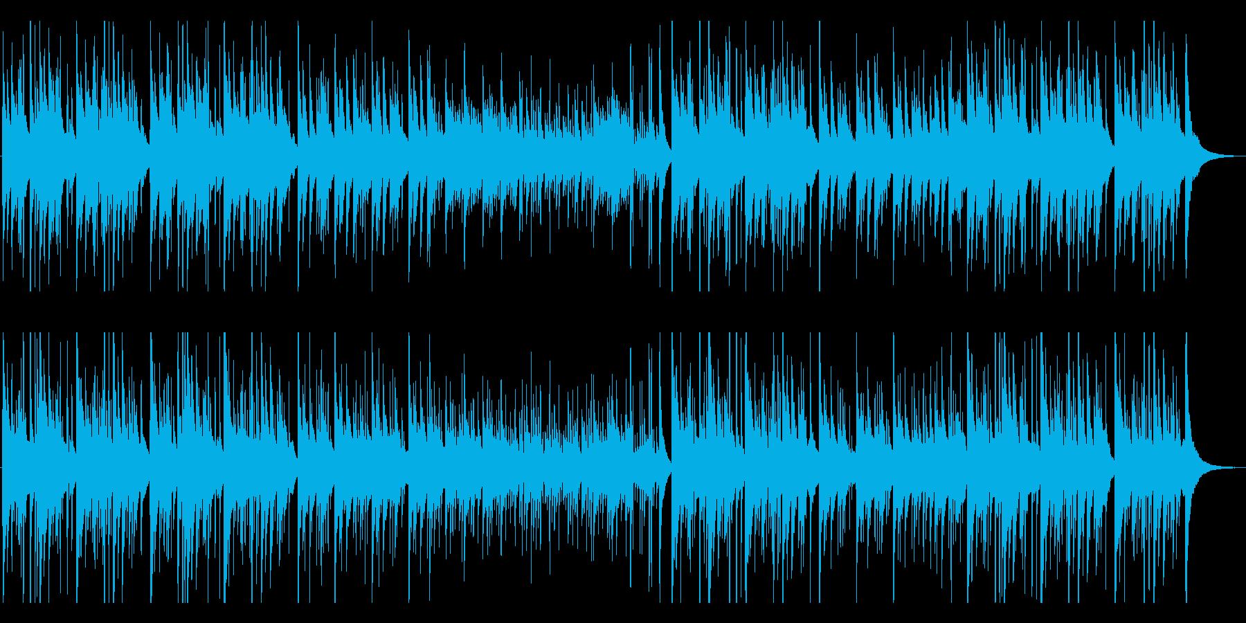 優しく切ないクラシックギター曲の再生済みの波形