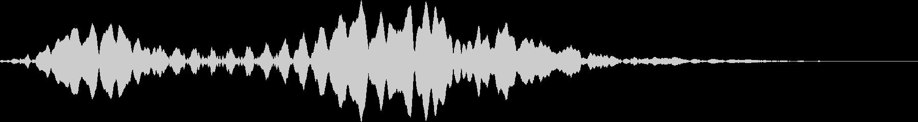 AMGアナログFX52の未再生の波形