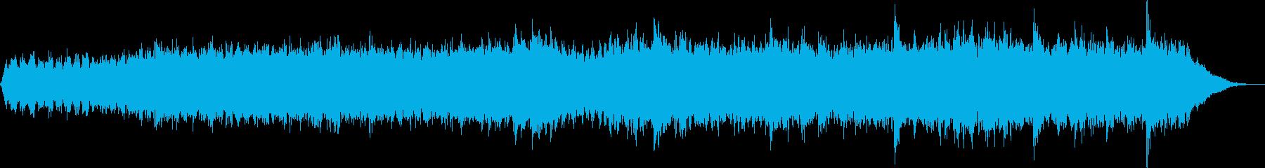 瞑想向けの電子アンビエントの再生済みの波形