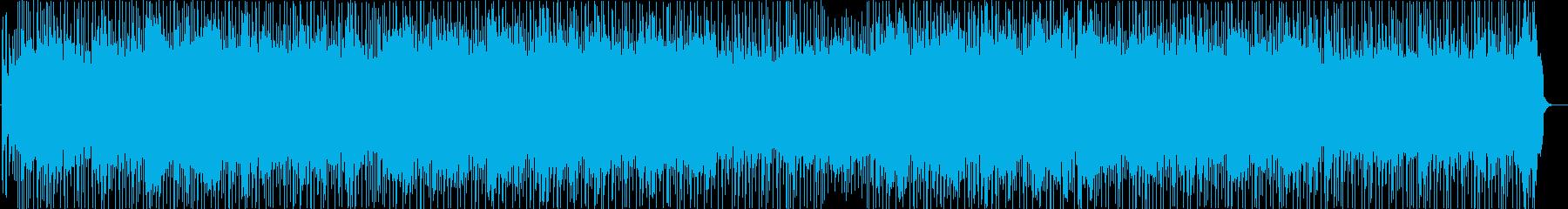 ノイジーでダンサブルなUKギターロックの再生済みの波形