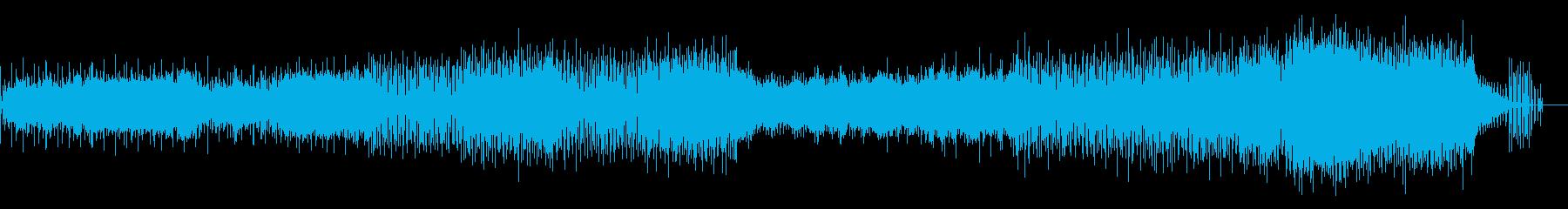 シンプルで壮大なラーガ ドラムンベースの再生済みの波形