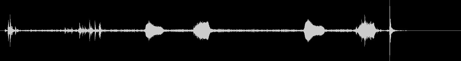 鳩時計1:ストライクツーオクロック...の未再生の波形