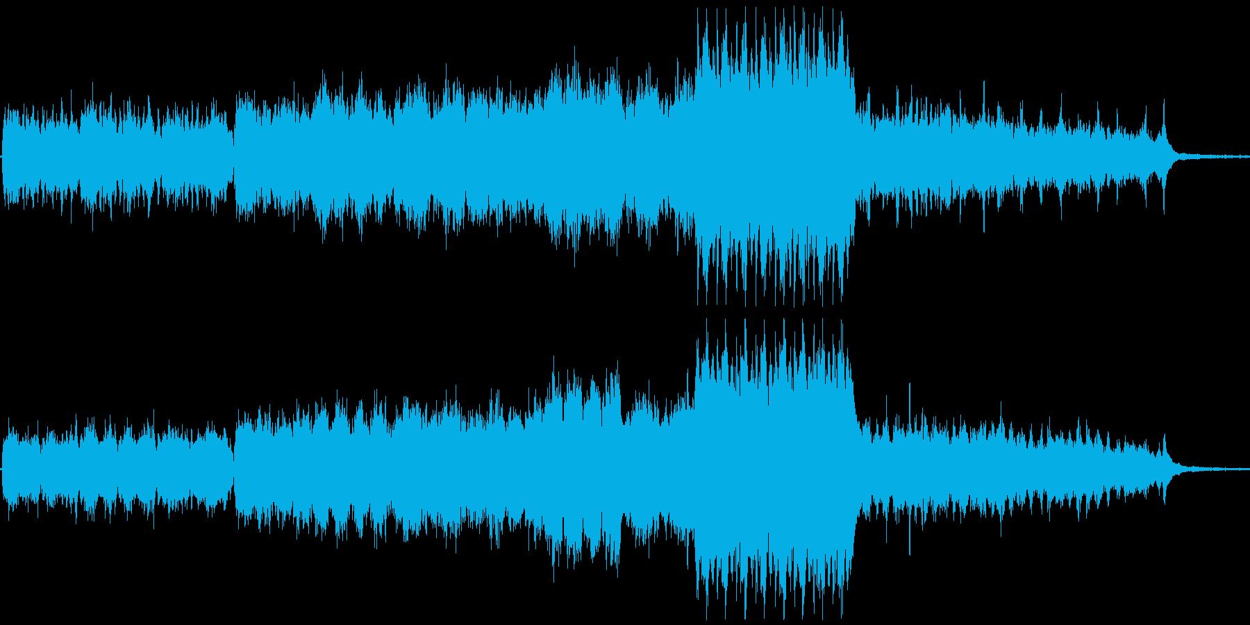 何かが始まる予感的シンフォニーの再生済みの波形